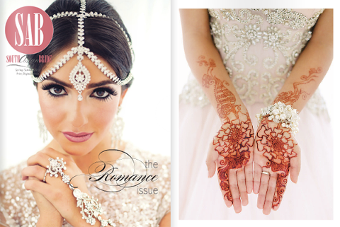 South Asian Bride Magazine Ruby Refined Events Ballerina Bride