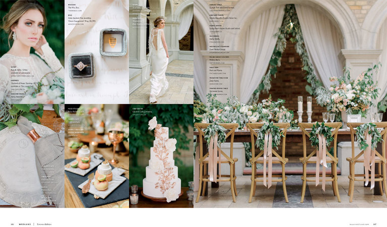 Luxury Toronto Wedding Planner Ruby Refined Events as seen in Wedluxe Magazine