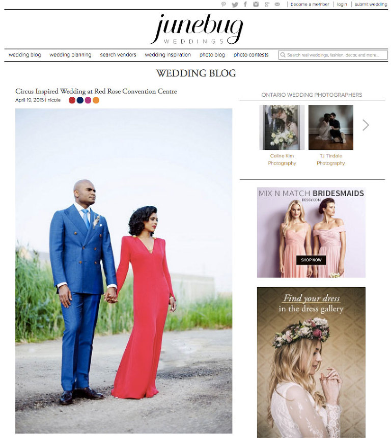 Toronto Wedding Planner Ruby Refined Events on Junebug Weddings